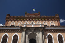 Low angle view of house of Francisco Piria by Panoramic Images