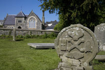 Macabre Grave Stones von Panoramic Images