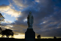 Sculpture of St Patrick, Tara, County Meath, Ireland von Panoramic Images