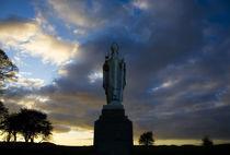 Sculpture of St Patrick, Tara, County Meath, Ireland von Panoramic Images