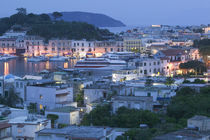 High angle view of a city, Ischia, Naples, Campania, Italy von Panoramic Images
