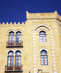 Low angle view of a building, Beirut, Lebanon by Panoramic Images