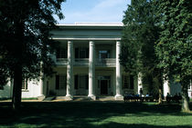 Facade of a museum, The Hermitage, Nashville, Davidson County, Tennessee, USA von Panoramic Images