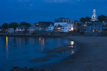 Buildings at the waterfront, Front Beach, Rockport, Cape Ann, Massachusetts, USA by Panoramic Images