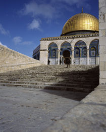 Low angle view of a mosque, Dome Of The Rock, Jerusalem, Israel by Panoramic Images