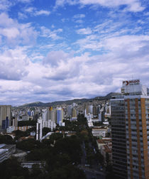 Clouds over a city, Belo Horizonte, Minas Gerais, Brazil by Panoramic Images