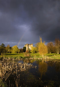 Kilkea Castle Hotel, Built 1180 by Hugh de Lacey, Kilkea, Co Kildare, Ireland by Panoramic Images