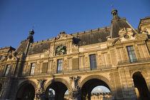 Low angle view of a museum, Musee Du Louvre, Paris, Ile-de-France, France von Panoramic Images