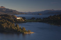 Hotel at the lakeside by Panoramic Images