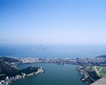High angle view of a cityscape, Rio De Janeiro, Brazil by Panoramic Images