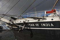 Maritime museum on a ship, Star of India, San Diego, California, USA von Panoramic Images