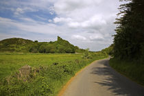 Dunhill Castle, Copper Coast, County Waterford, Ireland von Panoramic Images