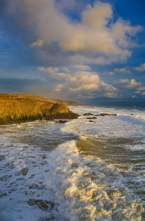 Stage Cove, Near Bunmahon, The Copper Coast, County Waterford, Ireland