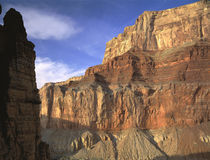 USA, Arizona, Grand Canyon National Park, Low angle view of the mountain von Panoramic Images