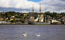 "The ""Dunbrody"" Famine Ship on the River Barrow by Panoramic Images"