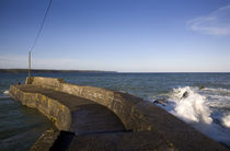 The Fishing Harbour Pier, Ardmore, Co Waterford, Ireland by Panoramic Images