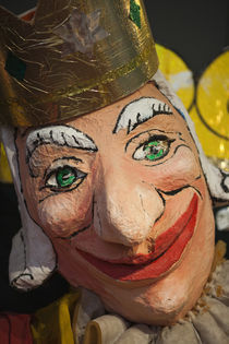Close-up of a clown mask, Museo Del Carnaval, Montevideo, Uruguay by Panoramic Images