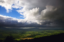 Fields From Croghaun, County Waterford, Ireland by Panoramic Images