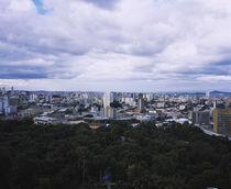 Clouds over a city, Belo Horizonte, Minas Gerais, Brazil von Panoramic Images