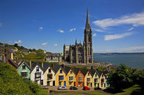 St Colman's Cathedral, Cobh, County Cork, Ireland von Panoramic Images
