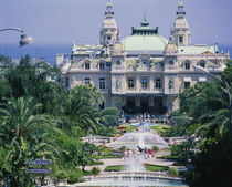 Facade of a casino, Monte Carlo, Monaco, France by Panoramic Images