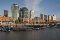 Warehouses at the port, Puerto Madero, Buenos Aires, Argentina by Panoramic Images