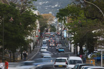 High angle view of traffic on a street von Panoramic Images