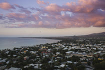 High angle view of a city, St. Paul, Reunion Island by Panoramic Images