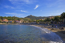 Collioure - Fishing Village and Artists Colony, Pyrenees-Orientales, France von Panoramic Images