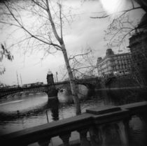 Bridges across a river, Vltava River, Prague, Czech Republic by Panoramic Images