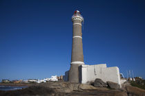 Low angle view of a lighthouse, Jose Ignacio, Maldonado, Uruguay by Panoramic Images