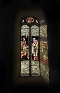 The Burne-Jones Stained Glass Window by Panoramic Images