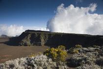 Ash plain of a volcano, Piton de la Fournaise, Plaine des Sables, Reunion Island von Panoramic Images