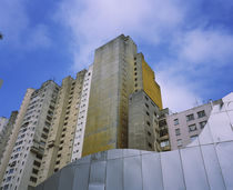 Low angle view of apartments in a city, Sao Paulo, Brazil von Panoramic Images