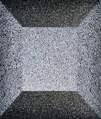 Grey granite monolith with flat top by Panoramic Images