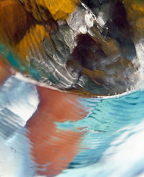 Abstract water on stones von Panoramic Images