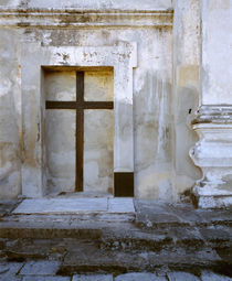 Cross in an alcove, Brazil by Panoramic Images