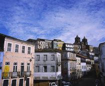 Building along a street, Largo do Pelourinho, Pelourinho, Salvador, Brazil by Panoramic Images