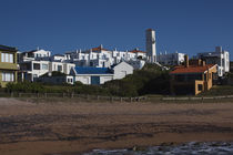 Houses in a town, Jose Ignacio, Maldonado, Uruguay von Panoramic Images