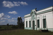Facade of a school, Pan de Azucar, Maldonado, Uruguay by Panoramic Images