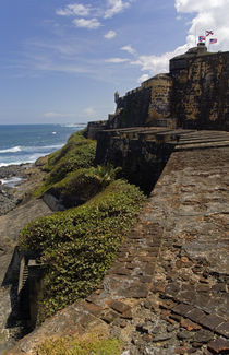 View Of Atlantic Ocean From El Morro by Panoramic Images