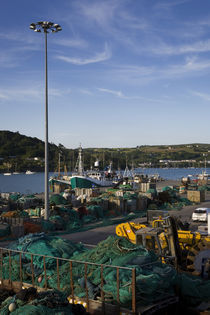 The Fishing Harbour, Unionhall, County Cork, Ireland by Panoramic Images