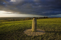 The Lia Fail Standing Stone, Tara, County Meath, Ireland by Panoramic Images