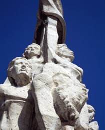 Low angle view of a statue, Syria von Panoramic Images