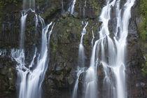 Water falling through rocks, Cascade de la Grand Ravine, Reunion Island by Panoramic Images