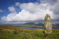 Standing Stone on Bear Island, Beara Peninsula, County Cork, Ireland von Panoramic Images