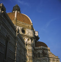 Low angle view of a cathedral, Duomo Santa Maria Del Fiore, Florence, Italy von Panoramic Images