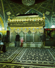 Interiors of a mosque, Syria von Panoramic Images