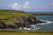 Dunabrattin Head, The Copper Coast, County Waterford, Ireland by Panoramic Images