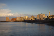 Buildings at the waterfront, Montevideo, Uruguay von Panoramic Images